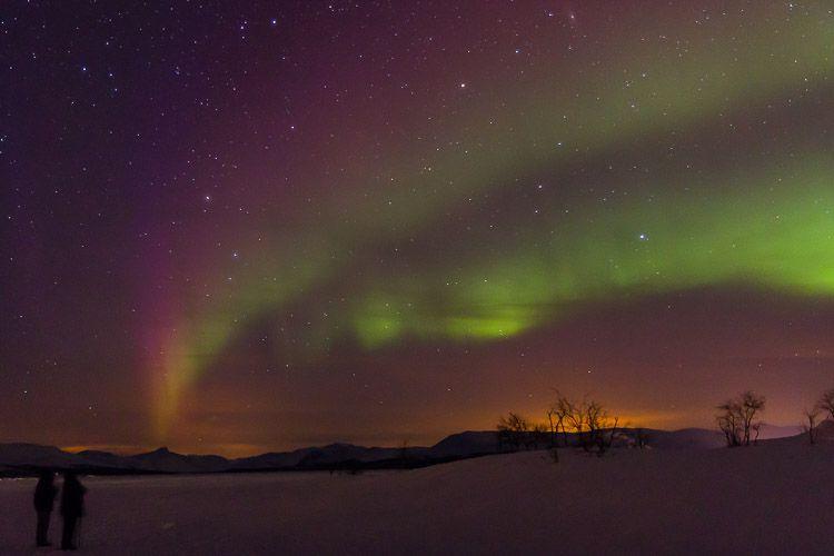 Fotografía de la Aurora Boreal