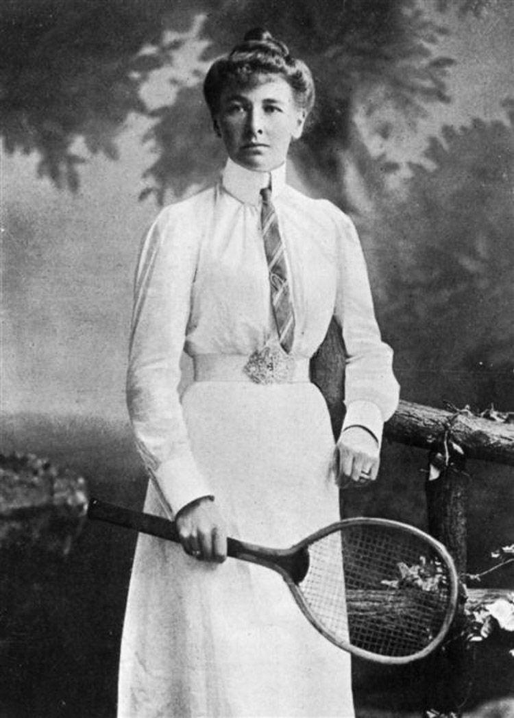 Primera tenista en ganar la medalla de oro