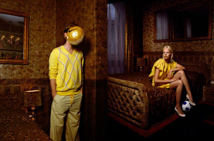 Fotografía publicitaria realizada por Alexandra Hager