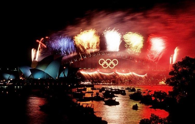 Ceremonia de clausura en Sydney 2000
