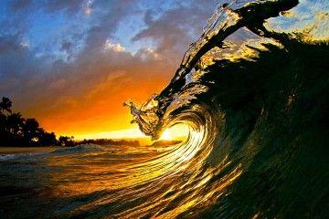 Fotografía de olas