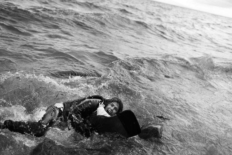 Fotografía ganadora de la última edición de los premios Ortega y Gasset por Samuel Aranda