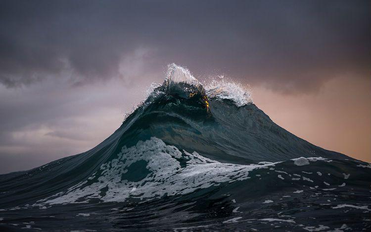 Fotografía de olas por Ray Collins