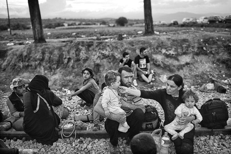 La crisis de los refugiados por Samuel Aranda