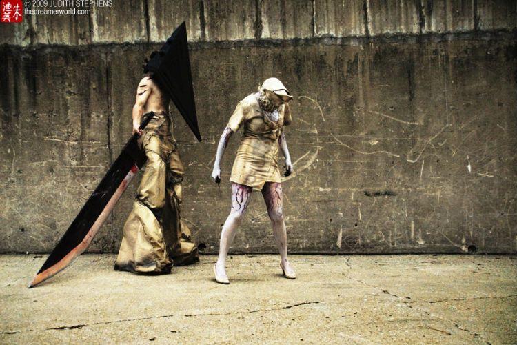 Cosplay de Silwnt Hill por Judith Stephens