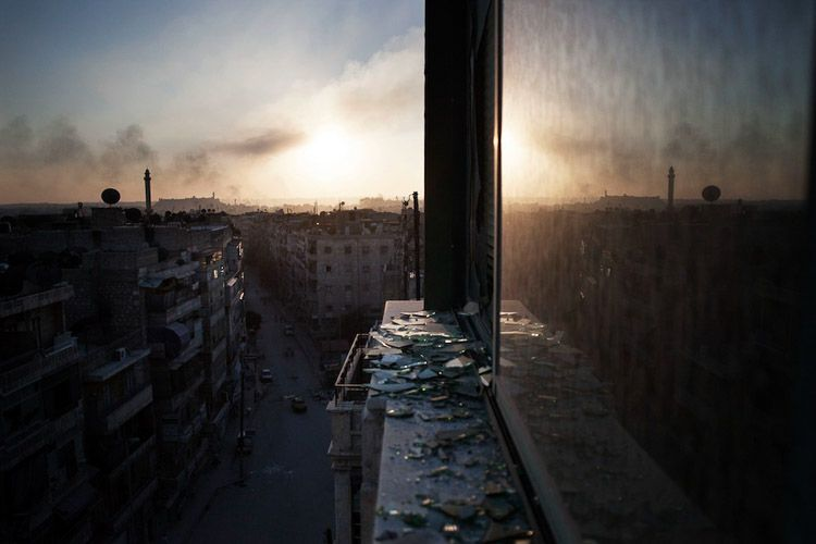 Siria devastada