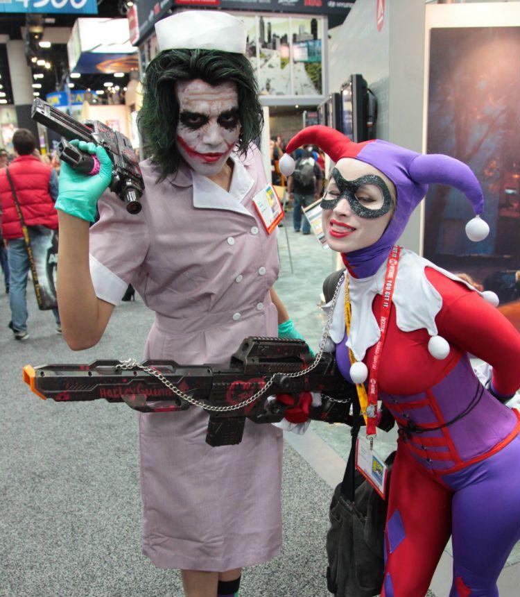 El Joker de Heath Ledger y Harley Quinn