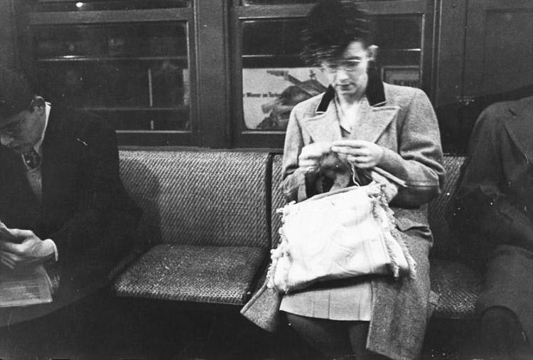 El metro de Nueva York por Stanley Kubrick