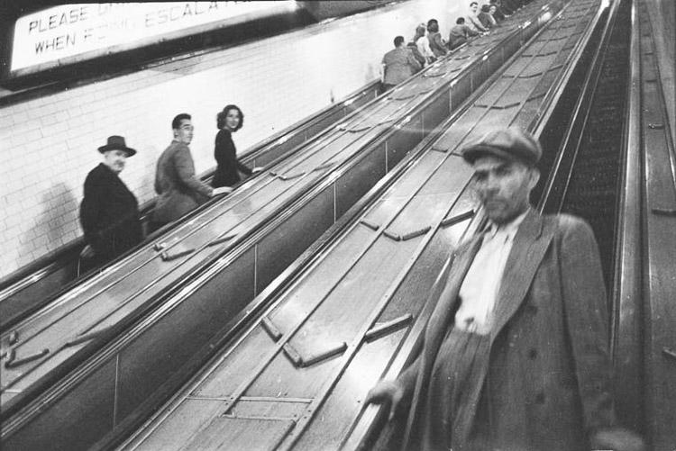 Escaleras del metro de Nueva York