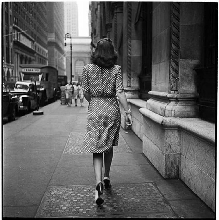 Mujer fotografiada por Stanley Kubrick