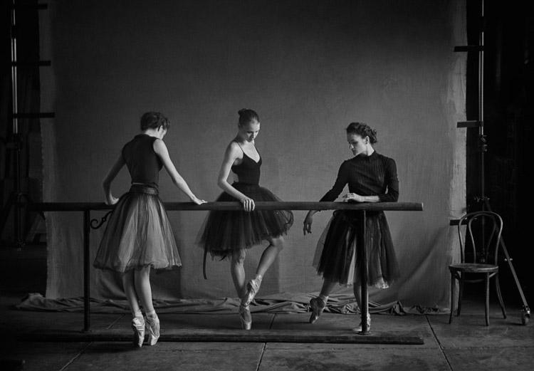 Bailarinas del New York City Ballet