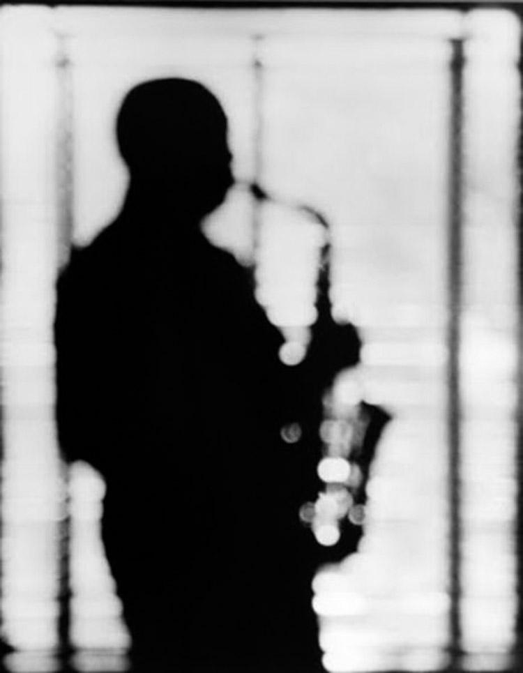 El saxofonista de jazz Charlie Parker