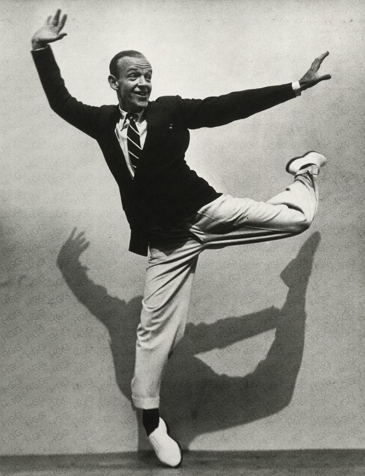 Fred Astaire fotografiado por Munkácsi