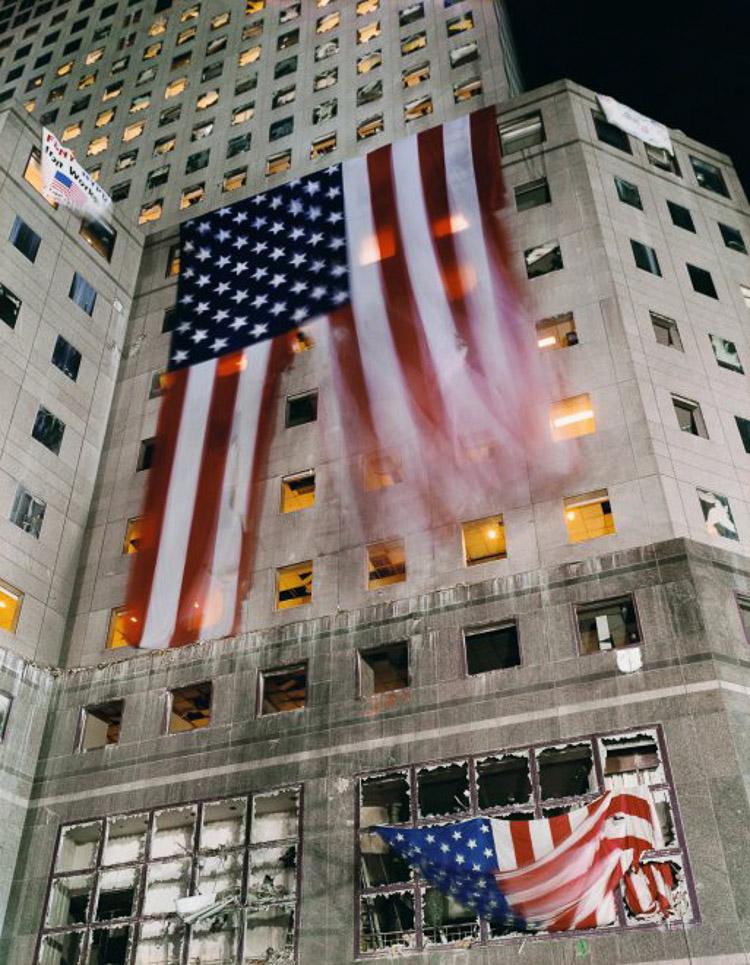 Fotografía tomada tras los atentados del 11-S por Joel Meyerowitz