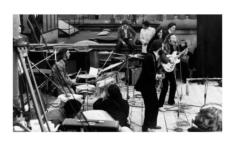 Concierto en el tejado. Beatles 1969