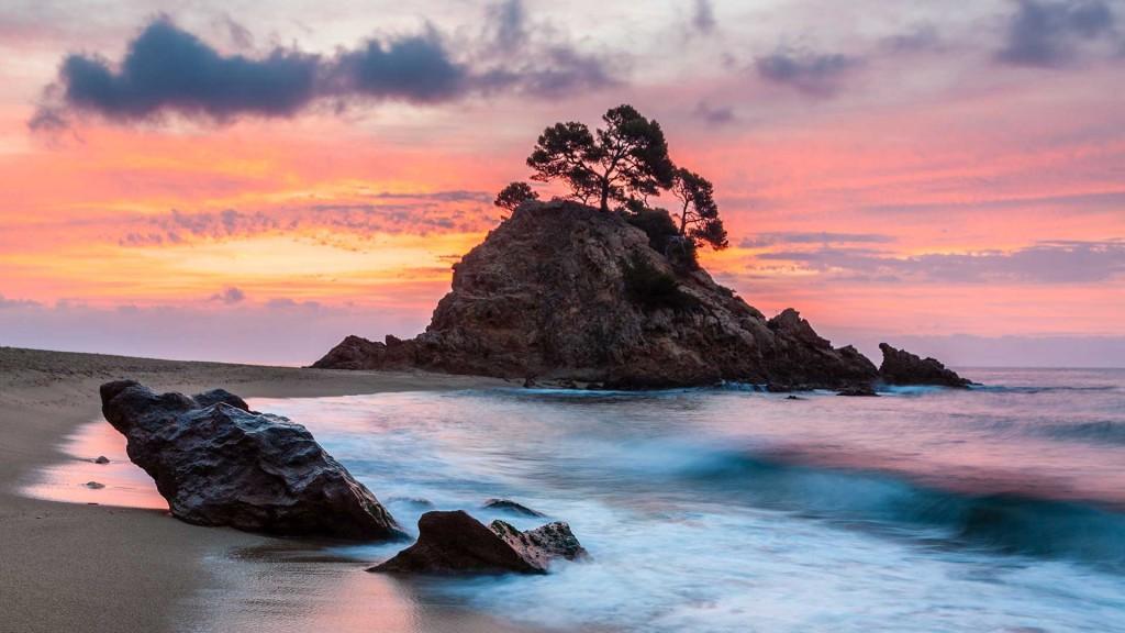 Fotografía de paisajes. Cala Cap Roig. Girona