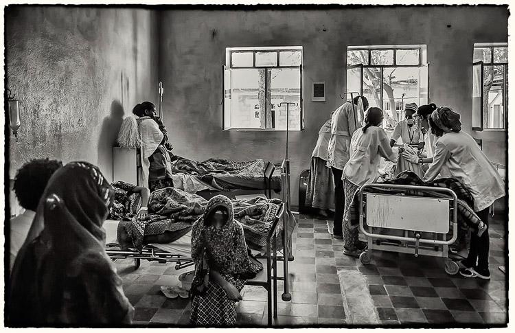 Hospital de Wucro. Etiopía