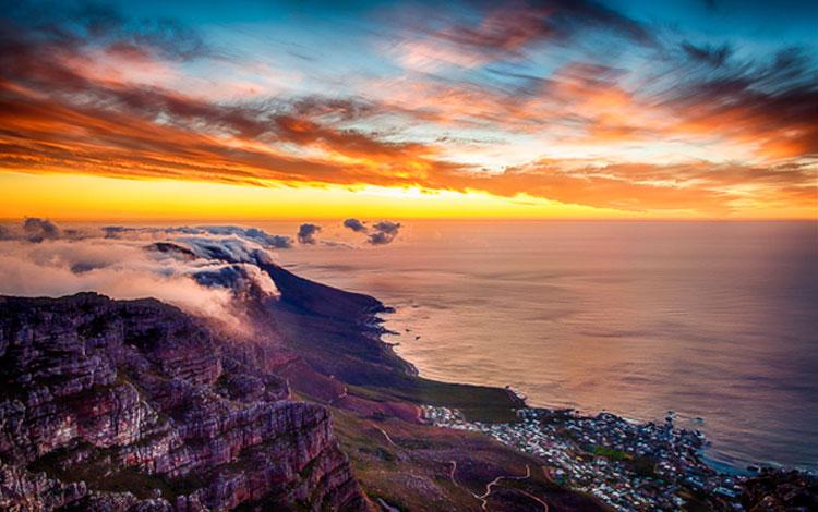 Atardeceres en Cape Town. Sudáfrica