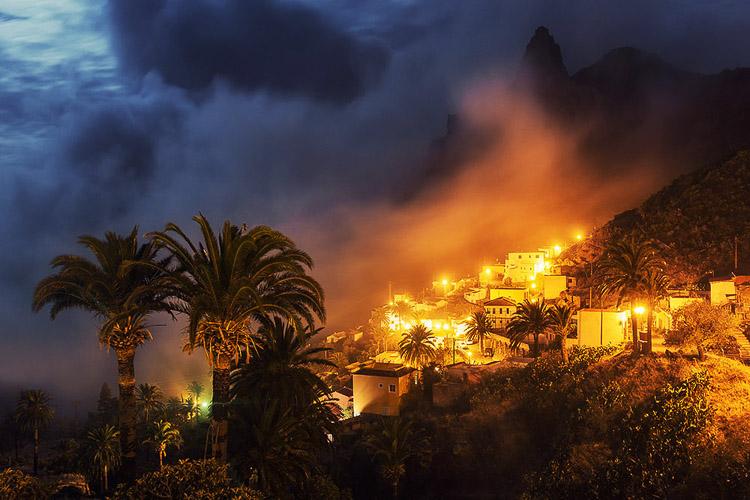 Zona costera de las Islas Canarias