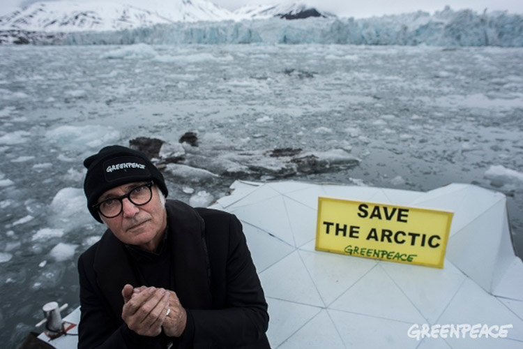 Greenpeace. Campaña Save the Arctic