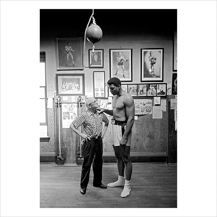 Muhammad Ali. Una de las mejores fotografías de Magnum