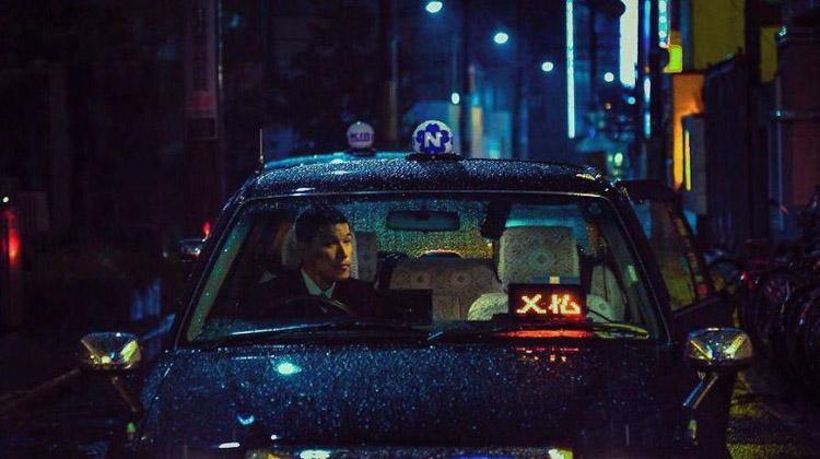 Taxista en Tokio. Liam Wong