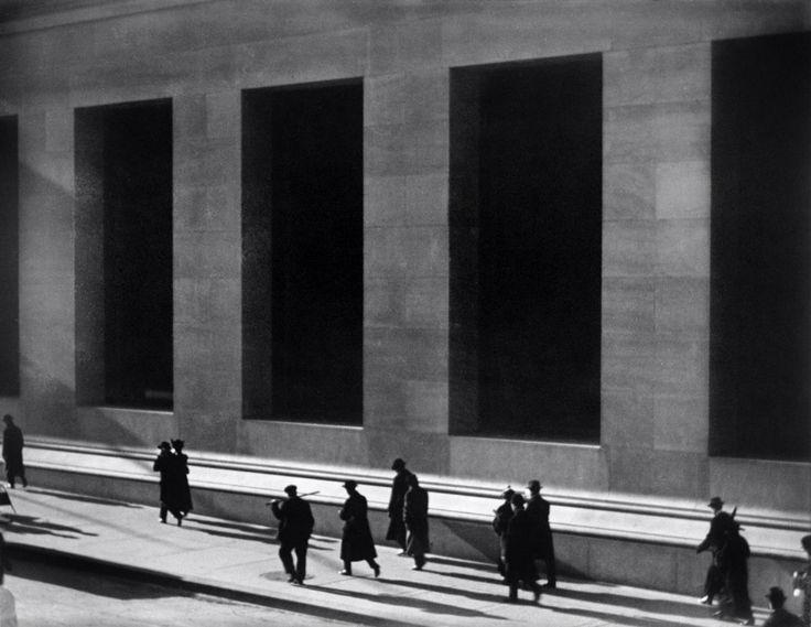 Wall Street, Nueva York. Paul Strand