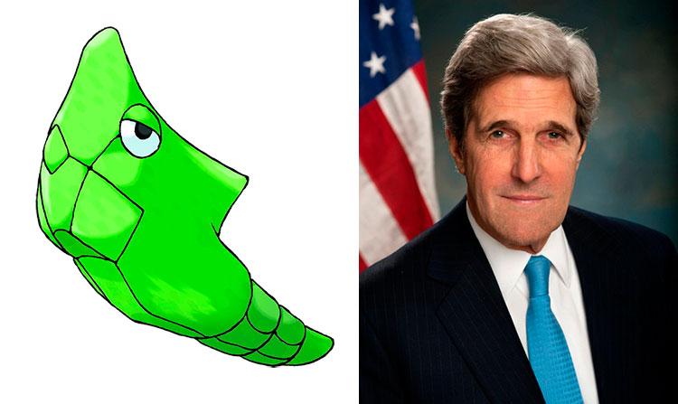 Metapod - John Kerry