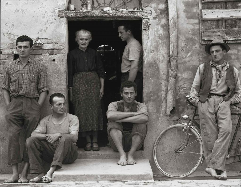 La familia. Paul Strand