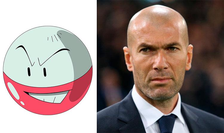 Electrode - Zinedine Zidane
