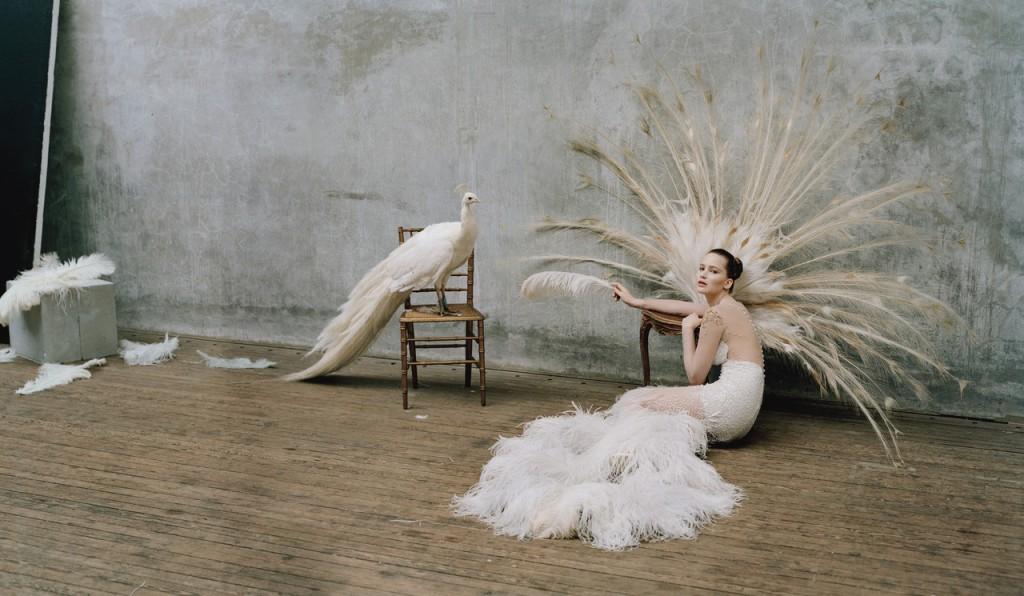 Jennifer Lawrence por Tim Walker