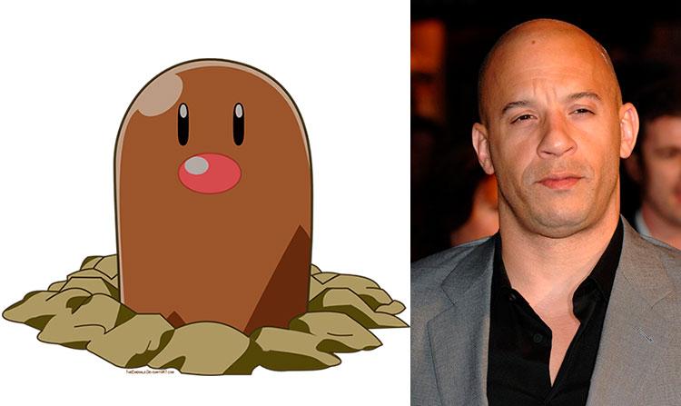 Diglet - Vin Diesel