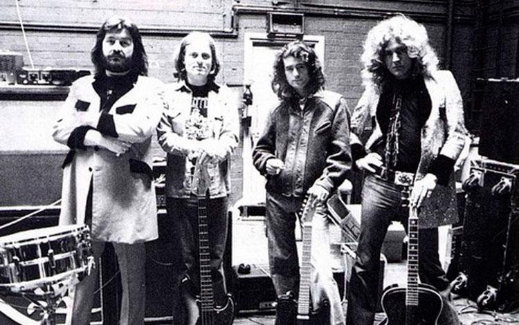 Led Zeppelin por Pennie Smith