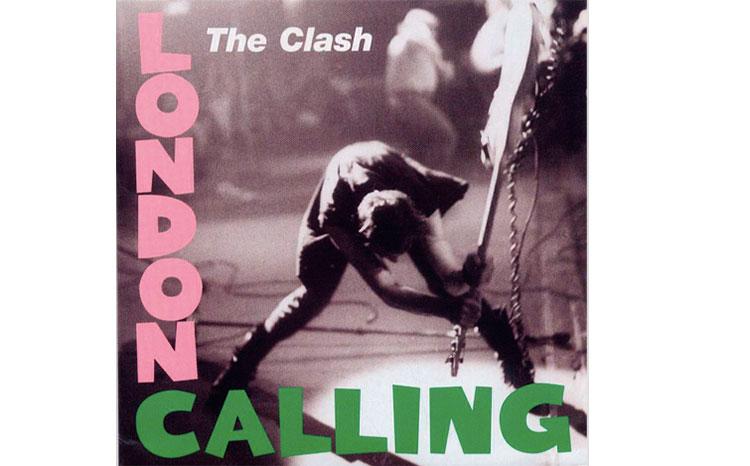 Portada de London Calling por Pennie Smith