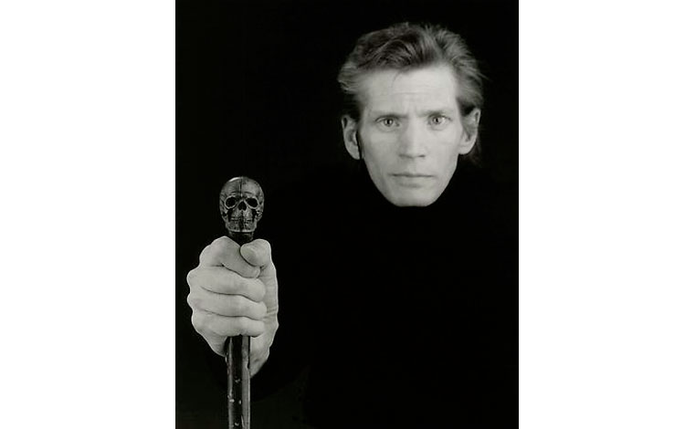 Autorretrato de Robert Mapplethorpe
