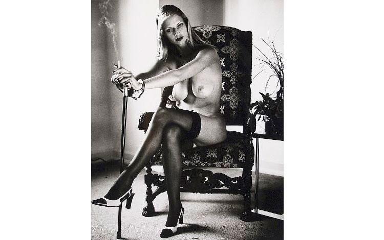 Cyberwoman, Helmut Newton. Fotografía Voyeur.