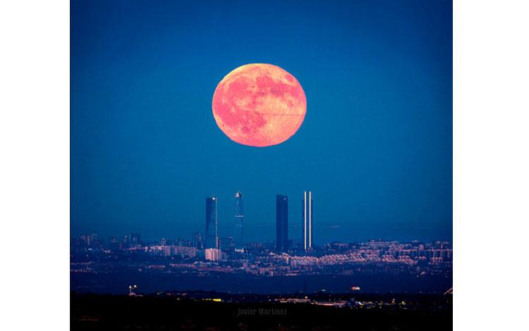 Luna llena de agosto de 2016, Javier Martinez Moran