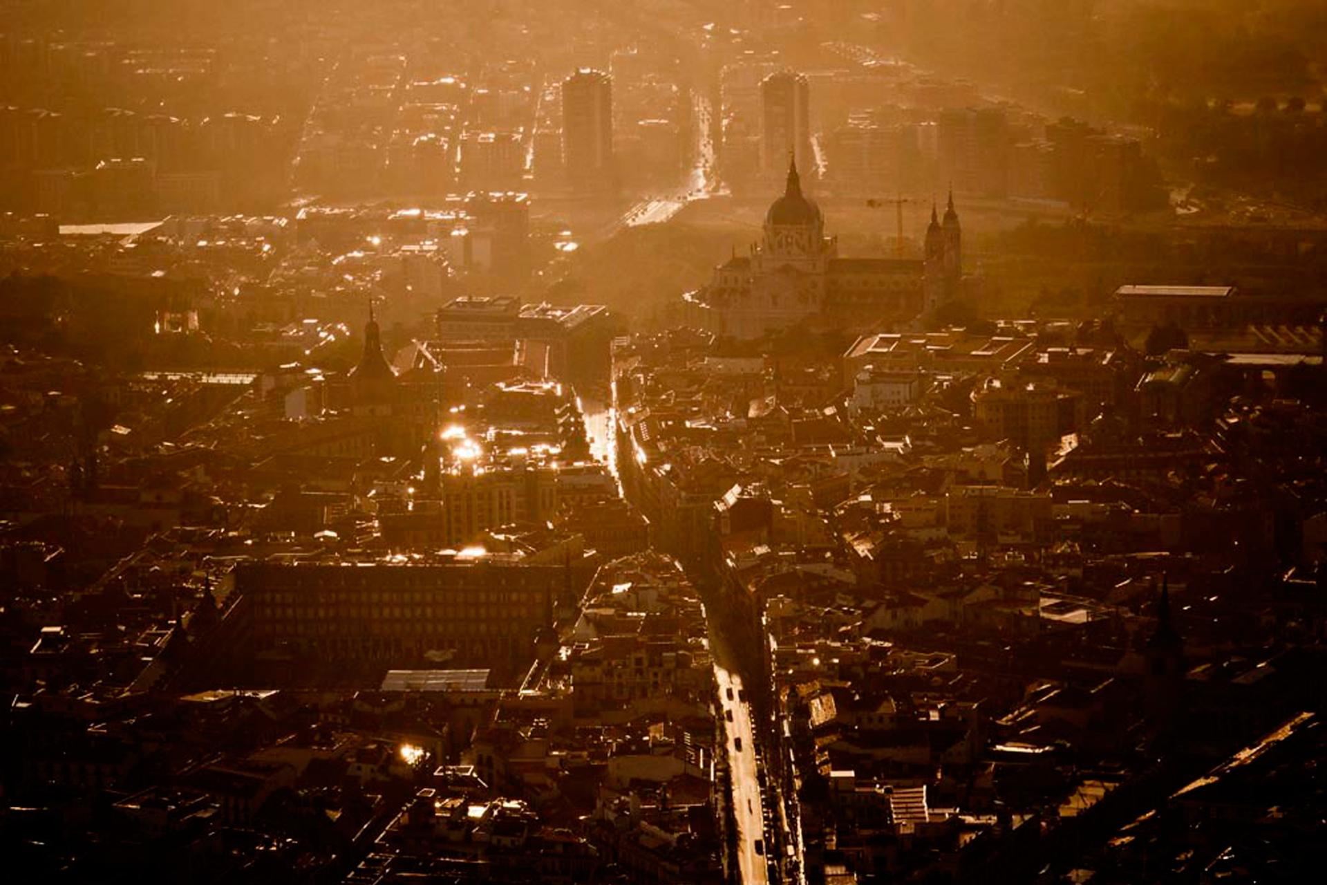 Madrid desde el cielo una perspectiva diferente cultura - El cielo de madrid ...