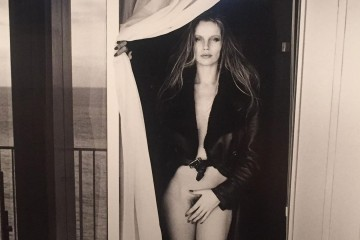 Fotografía voyeur de Helmut Newton