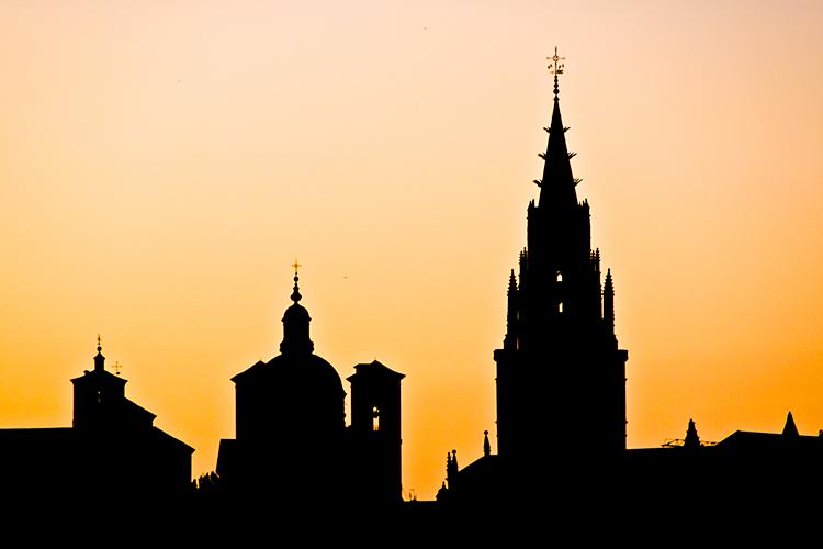 Catedral de Toledo al atardecer