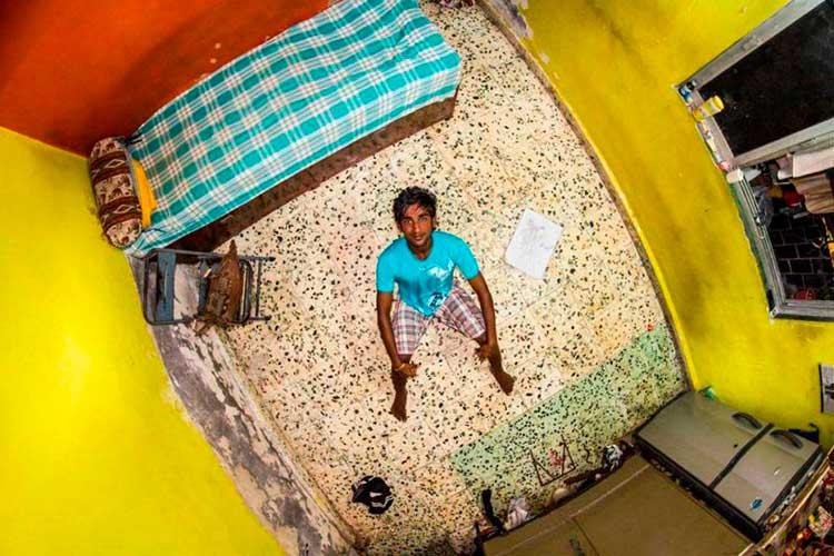 Habitación en la India