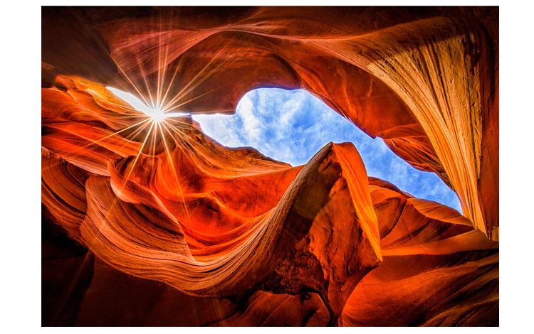 Rocas del Cañón desde abajo