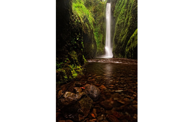 Cascada de la Garganta de Oneonta