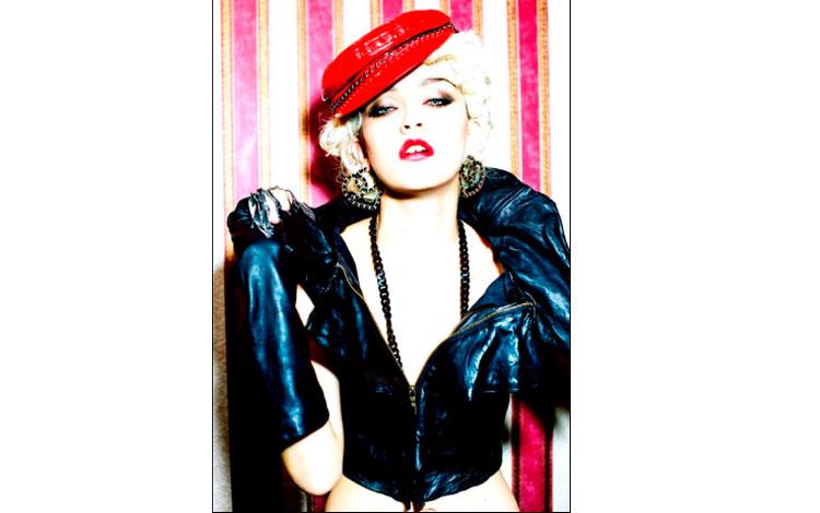 Fotografía de la cantante Madonna