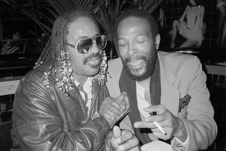 Stevie Wonder y Marvin Gaye