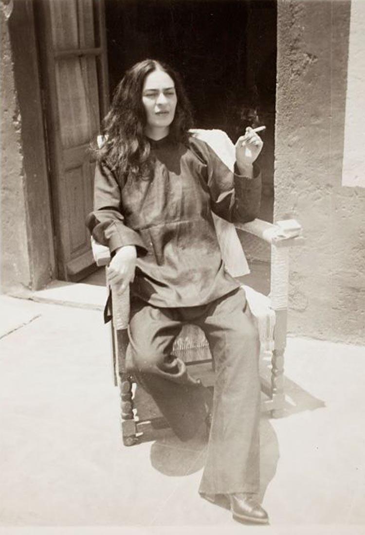 Frida Kahlo Antonio Kahlo tras operación
