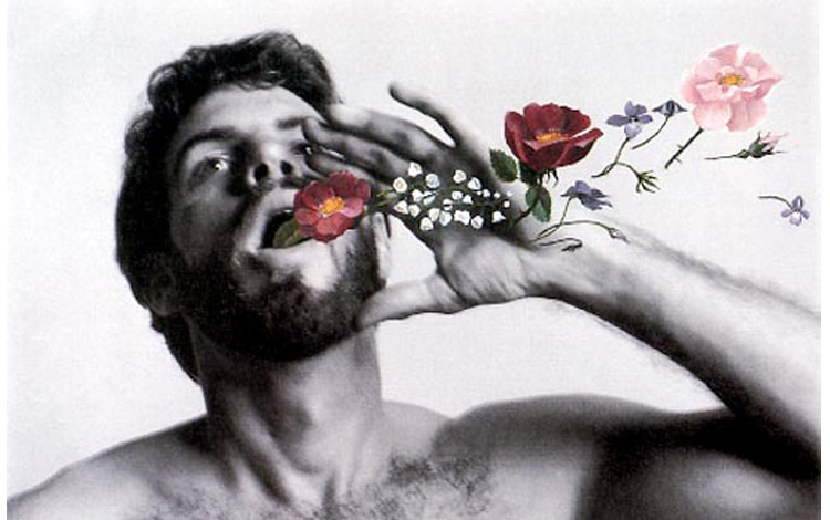 Duane Michals self portrait as if I were dead