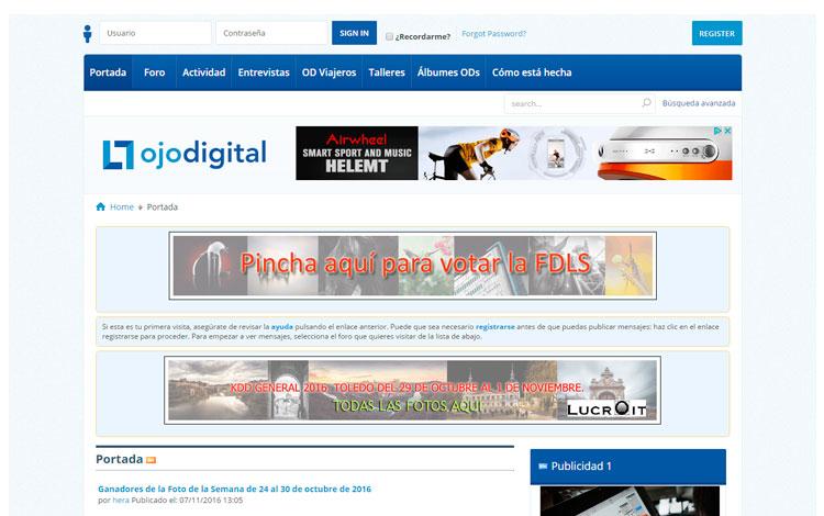 Pantalla de Ojo Digital