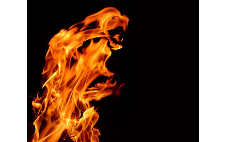 Llamarada de fuego
