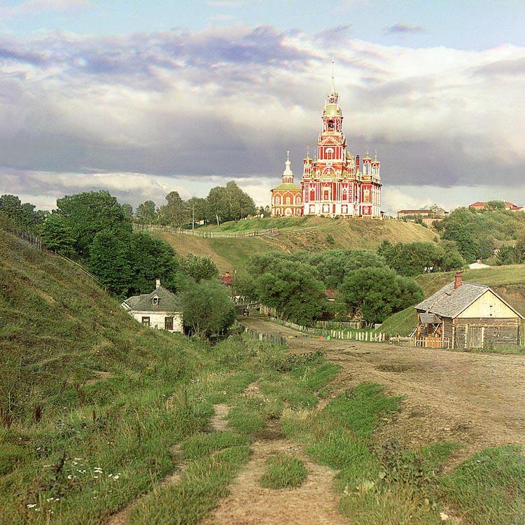 Serguei Prokudin-Gorski Iglesia Roja